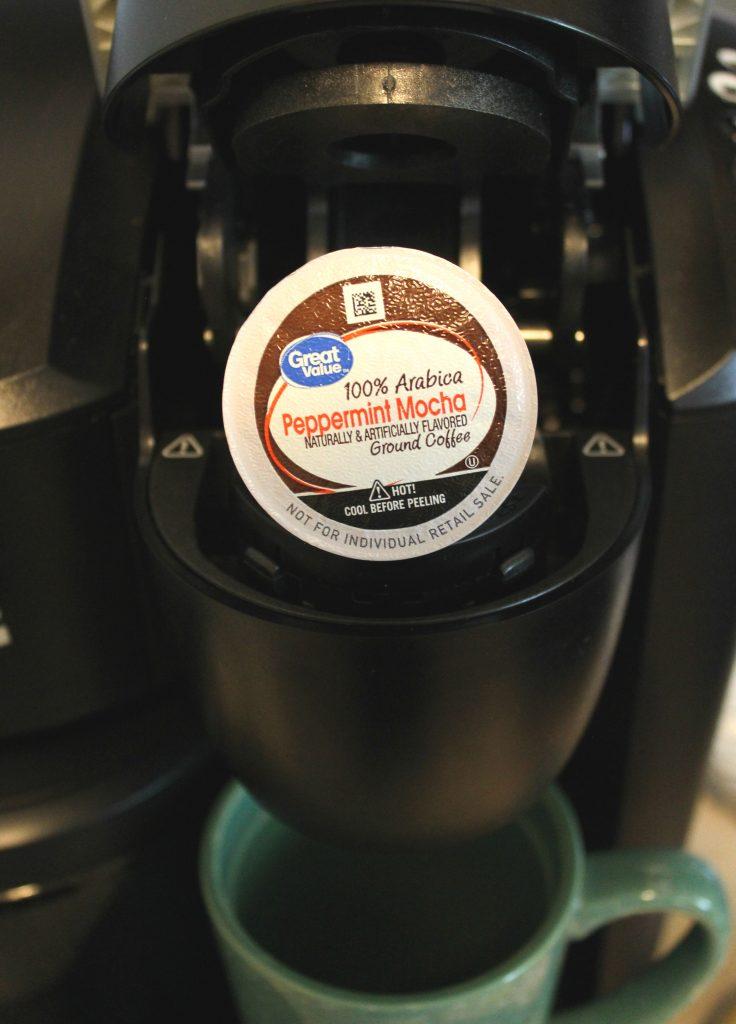 peppermint mocha k-cup